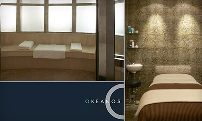 Okeanos Spa - Midtown East: Massage Package with Spa Pass and More at Okeanos Club Spa. Choose from Three Options.