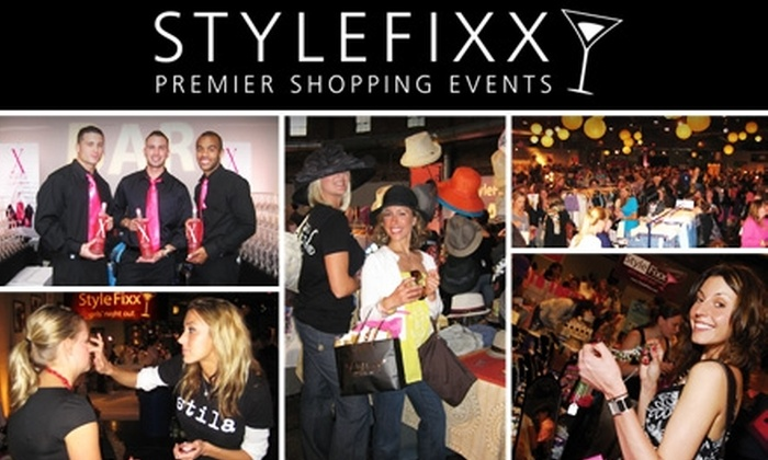 StyleFixx - Chelsea: $15 Admission to StyleFixx Premier Shopping Event. Buy Here for Thursday, October 22. See Below for October 21.