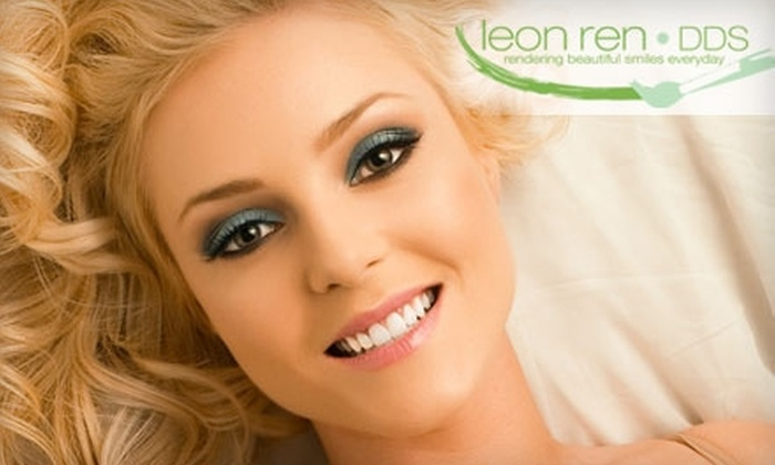 Leon Ren, DDS - Newport Beach: $150 for a One-Hour Power Teeth Whitening with Leon Ren, DDS, in Newport Beach ($500 Value)