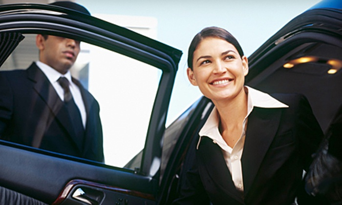 Social Limousine - Multiple Locations: One-Way or Round-Trip Transportation to San Francisco Airport in a Town Car Sedan from Social Limousine (Up to 53% Off)