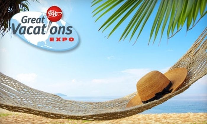 AAA Great Vacations Expo - Franklinton: $8 for Two Admission Tickets to the AAA Great Vacations Expo at the Franklin County Veterans Memorial on January 21–23