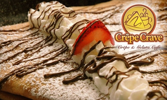 Crêpe Crave - Wicker Park: $9 for $20 Worth of Crêpes and More at Crêpe Crave