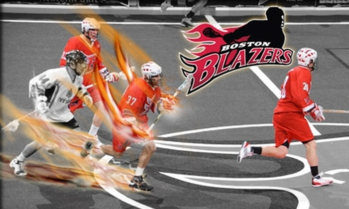 Boston Blazers - Boston: $20 for One Loge Ticket to the Boston Blazers Lacrosse Game on January 9, at 7:30 PM ($38 Value)