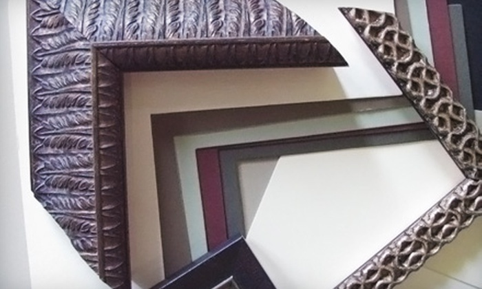 frugal framer - Multiple Locations: $35 for $70 Worth of Custom Framing at the frugal framer