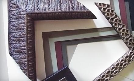 $70 Groupon to frugal framer - frugal framer in Asheville