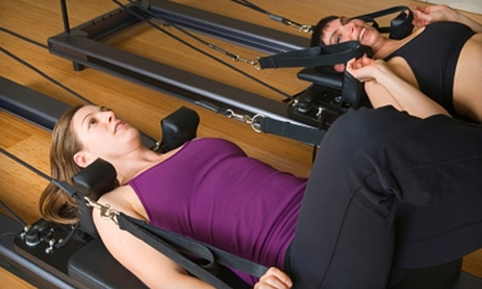 Pilates+Yoga - Paradise: $30 for Five Pilates or Yoga Classes or Two Apparatus Classes at Pilates+Yoga (Up to $75 Value)