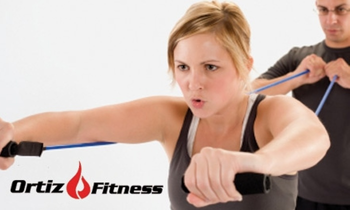 Ortiz Fitness - Multiple Locations: $39 for 10 Drop-In Boot-Camp Classes at Ortiz Fitness ($250 Value)