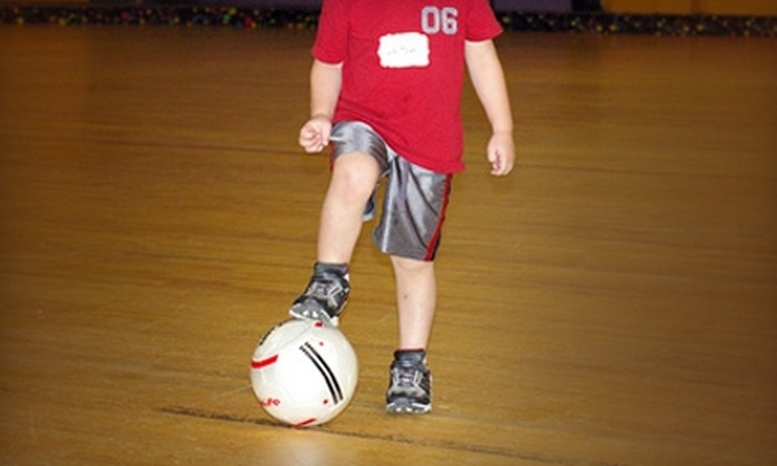 Kick-'n-Sticks - Garner: Ten-Week Session of Youth Sports Classes at Kick-'n-Sticks in Garner. Two Options Available.