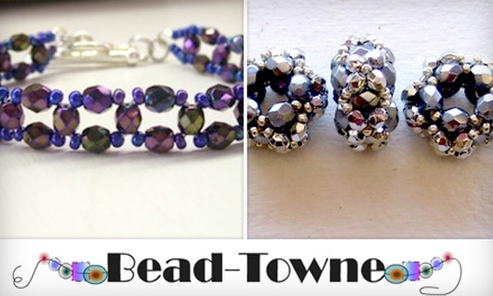 Bead Towne - Olive Branch: $20 for $40 Toward One Class and Supplies at Bead Towne
