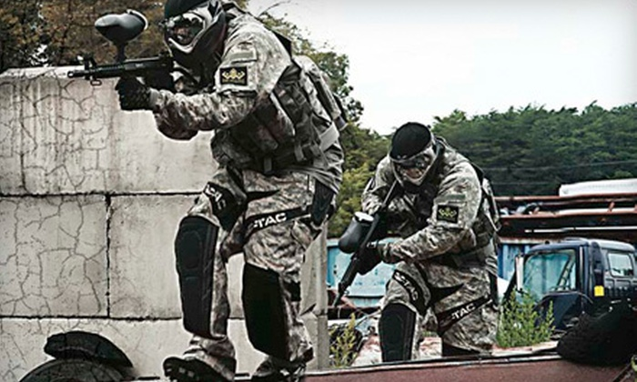 Long Live Paintball - Old Bridge: Full-Day Paintball Outing for One, Two, or Four at Long Live Paintball in Old Bridge (Up to 65% Off)