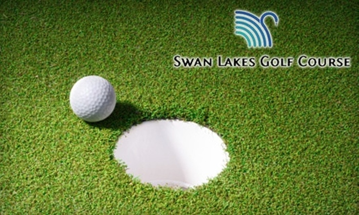 Swan Lakes Golf Course - Layton: $8 for Two Putting-Green Admissions or Mini Golf Plus Batting-Cage Tokens at Swan Lakes Golf Course in Layton (Up to $18 Value)