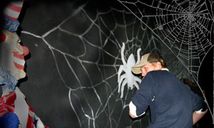 Spider Mansion - Denver: Weekday or Weekend Haunted-House Visit for Two or Four to Spider Mansion in Golden