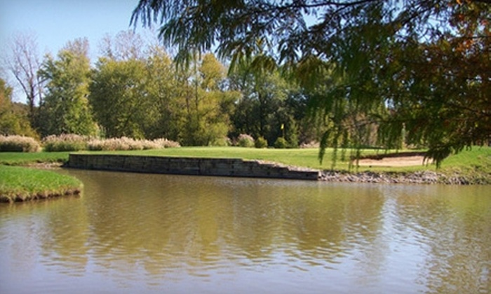 Mid Rivers Golf Links - Saint Peters: $44 for Round, Cart Rental, and Range Balls for Two at Mid Rivers Golf Links in St. Peters (Up to $96 Value)
