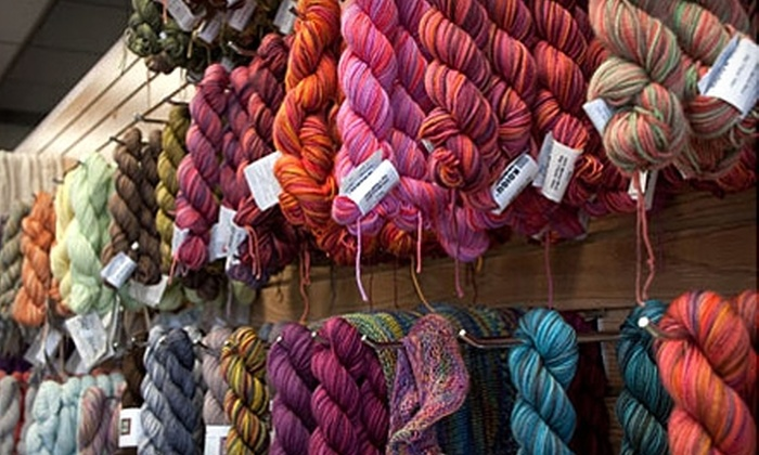 Unwind - East Greenwich: $30 for Three Introductory Knitting Classes at Unwind in East Greenwich ($90 Value)
