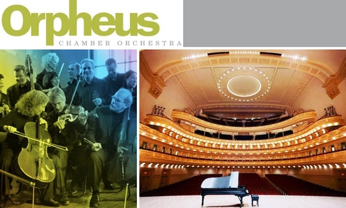 Orpheus Chamber Orchestra - Clinton: Three-Performance Concert Series by the Orpheus Chamber Orchestra at Carnegie Hall