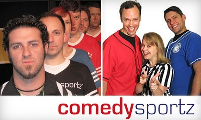 ComedySportz - Arden - Arcade: $9 for Two Tickets to a Night of Improv Comedy at ComedySportz (Up to $20 Value)