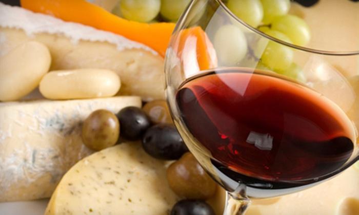 Mezzo Bistro Italiano - Las Vegas: $15 for Wine Tasting and Cheese Platter for Two at Mezzo Bistro Italiano ($30 Value)