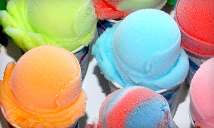 Sunset Slush Classic Italian Ice - Foxcroft: $12 for Punch Card for Seven Small Italian Ices at Sunset Slush Classic Italian Ice ($24.50 Value)