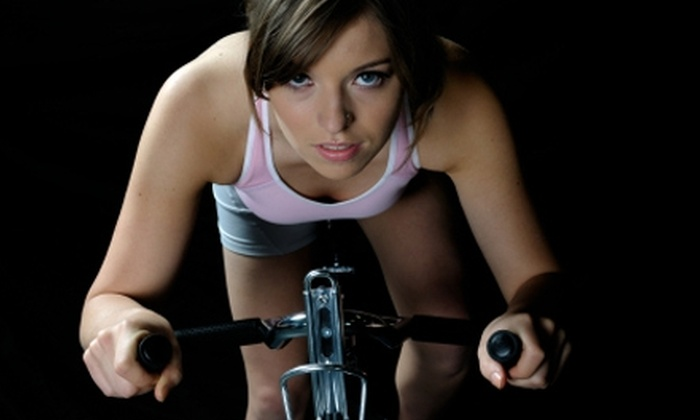 Pedal and Pose - Concord: $64 for 16 Hours of Class Time at Pedal & Pose Fitness in Concord ($160 Value)