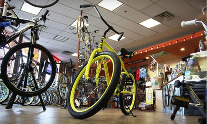 Trailhead Bike Cafe - Camelback East: $30 for a Silver-Level Tune-Up Plus $10 Toward Café Fare at Trailhead Bike Cafe ($69.99 Value)