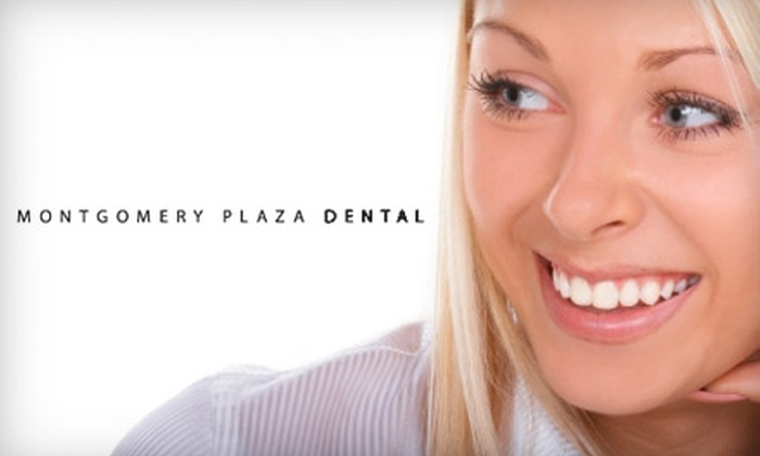Montgomery Plaza Dental - Montgomery Plaza: $149 for a ZOOM! Whitening Treatment ($425 Value) or $89 for Customized Bleaching Trays ($300 Value) at Montgomery Plaza Dental