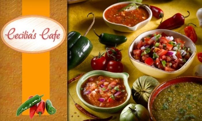 Cecilia's Café - Raynolds Addition: $7 for $15 Worth of New Mexican Fare at Cecilia's Café