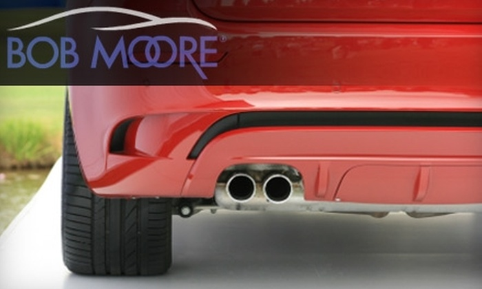 Bob Moore Auto Group - Multiple Locations: $30 for an Oil Change, Nitrogen Tire Fill, and Multipoint Inspection with a Winterization Check at Bob Moore Auto Group ($99.99 Value)