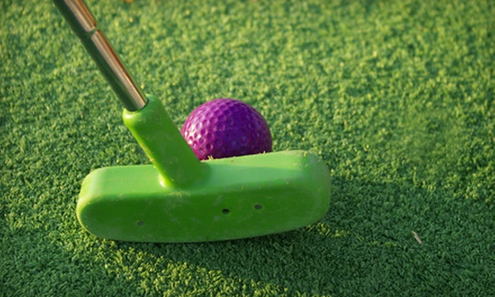 Trombetta's Farm - Marlborough: Mini Golf and Ice Cream for Two or Four or Mini-Golf Party for Up to Ten at Trombetta's Farm in Marlborough