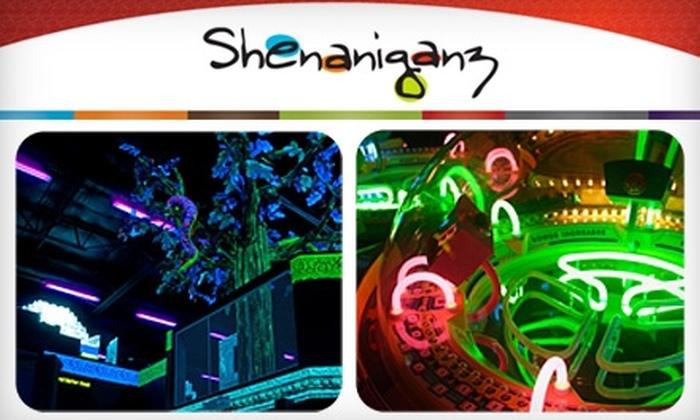 Shenaniganz - Rockwall: $29 for Three Games of Laser Tag Plus a $35 Arcade Card at Shenaniganz ($59 Value)