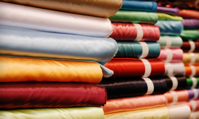 All About Fabrics - Williamston: $15 for $30 Worth of Fabric and Sewing Supplies at All About Fabrics on January 5–7 and February 2–4 in Williamston