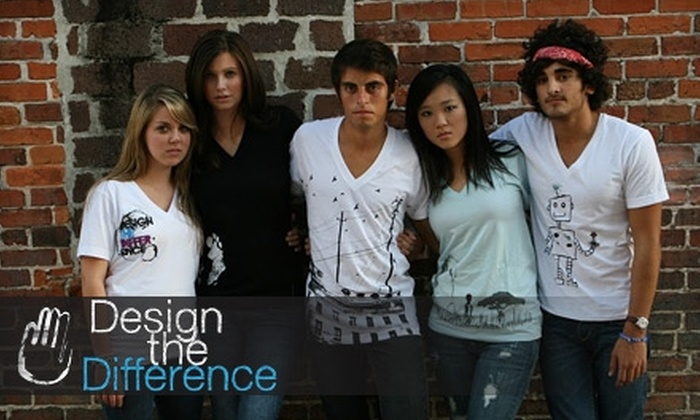 Design The Difference: $15 for $30 Worth of Custom-Designed T-shirts from Design the Difference
