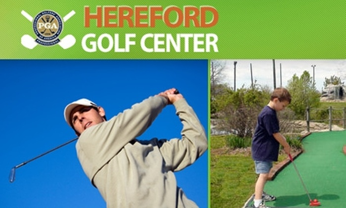 Hereford Golf Center - 7: $12 for Five Rounds of Mini Golf or Three Buckets of Golf Balls at the Driving Range at Hereford Golf Center (Up to $25 Value)
