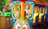 Indoor Safari Park - Plano - Plano: $5 for Kids' Play Pass with Rides and Access to Jungle Gyms at Indoor Safari Park ($9.99 Value)