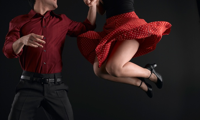 Just Dance Swing Ballroom - Junior College Neighborhood Association: Four-Week Swing-Dance Course for Individual or One or Two Couples at Just Dance Swing Ballroom (Up to 53% Off)