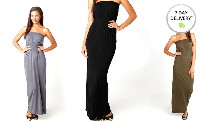 Seamless Maxi Dress: Seamless Maxi Dress. Multiple Colors Available. Free Shipping and Returns.