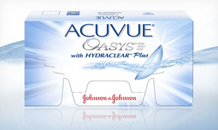 Up to 54% Off Acuvue Oasys Contacts   Groupon Goods d959cc0eb6