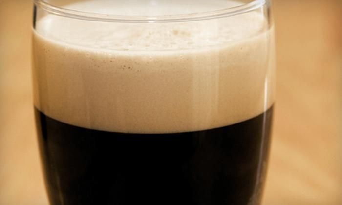 O'Flaherty's Irish Pub - Downtown San Jose,Central San Jose,Autumn: $20 for Four Traditional Irish Drinks at O'Flaherty's Irish Pub (Up to $40 Value)