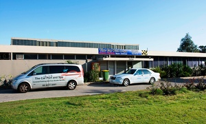 The Car Port and Spa: Airport Parking with Shuttle Transfers - 3 ($39), 5 ($49) or 7 Days ($59) with The Car Port and Spa (Up to $108 Value)