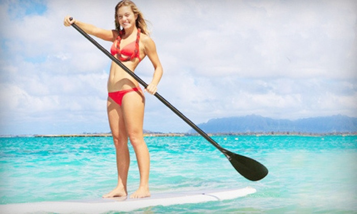 Channel Islands Kayak Center - Oxnard: Beginner Standup Paddleboard Lesson and Wildlife Tour for One or Two from Channel Islands Kayak Center (Up to 67% Off)