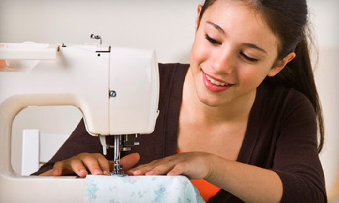 Sew Have Fun - Samac: Two-Hour Introductory Sewing Class or Six-Week Sewing Class at Sew Have Fun in Oshawa