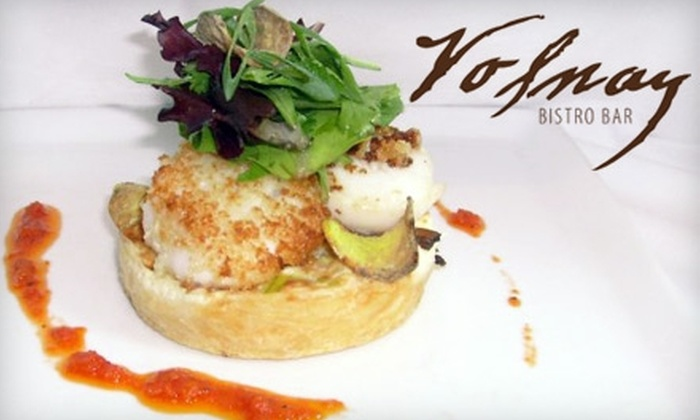 Volnay Bistro Bar in Wayzata - Plymouth - Wayzata: $25 for $50 of French Dinner Fare and Drinks at Volnay Bistro Bar in Wayzata