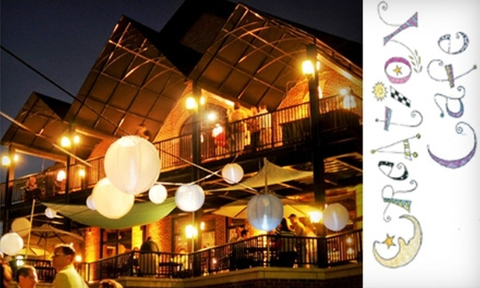 Creation Cafe - Downtown Indianapolis: $8 for $18 Worth of Eclectic Cuisine and Drinks at Creation Cafe