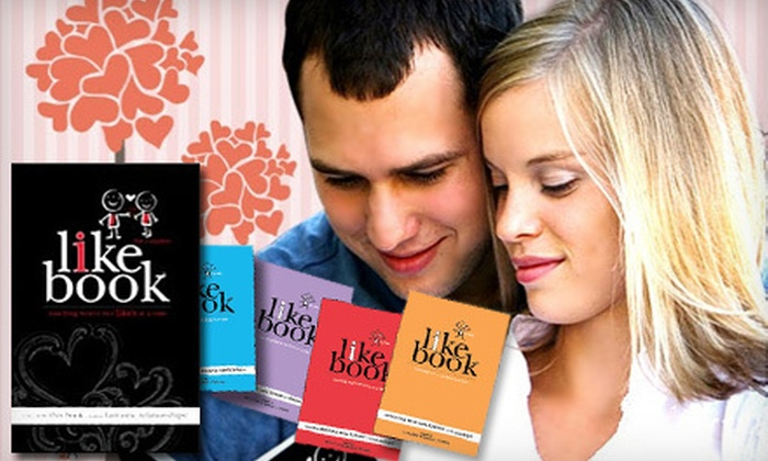 """The I Like Book: $12 for The """"I Like Book"""" for Couples Including Shipping from The I Like Book ($25.45 Value)"""