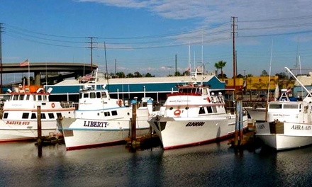 Fishing Trip for One or Two  from South Bay Cruises (Up to 42% Off). Four Options Available.