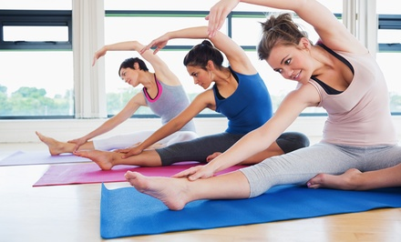 10 or 20 Yoga or Pilates Classes at           HeartStone Studio (Up to 54% Off)