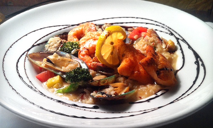 Bizaare Ave Cafe - Lake Worth: $25 for $50 Worth of Tapas and Bistro Food for Dinner at Bizaare Ave Cafe
