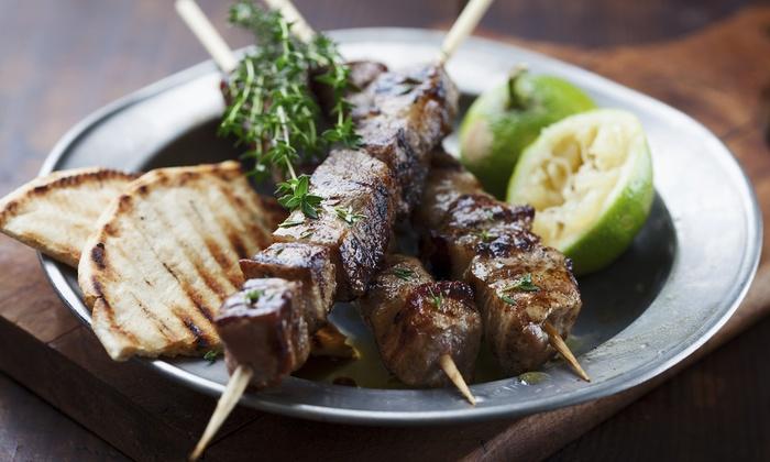 Troy's Greek Restaurant - Grantville: $10 for $18 Worth of Greek Cuisine at Troy's Greek Restaurant