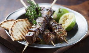 Greek Food for Two or Four at Theo's Restaurant (56% Off)
