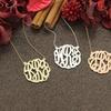 Handmade Monogram Necklaces