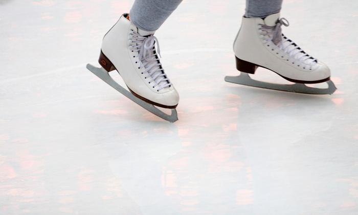 Sprinker Recreation Center - Parkland: $10 for Ice-Skating Admission for Two with Rental Skates at Sprinker Recreation Center ($21.88 Value)